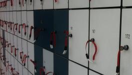 Genoeg gratis lockers (muntje retour)
