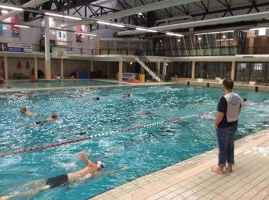 Vroegzwemmen ook in de winter! vereniging flevoparkbad